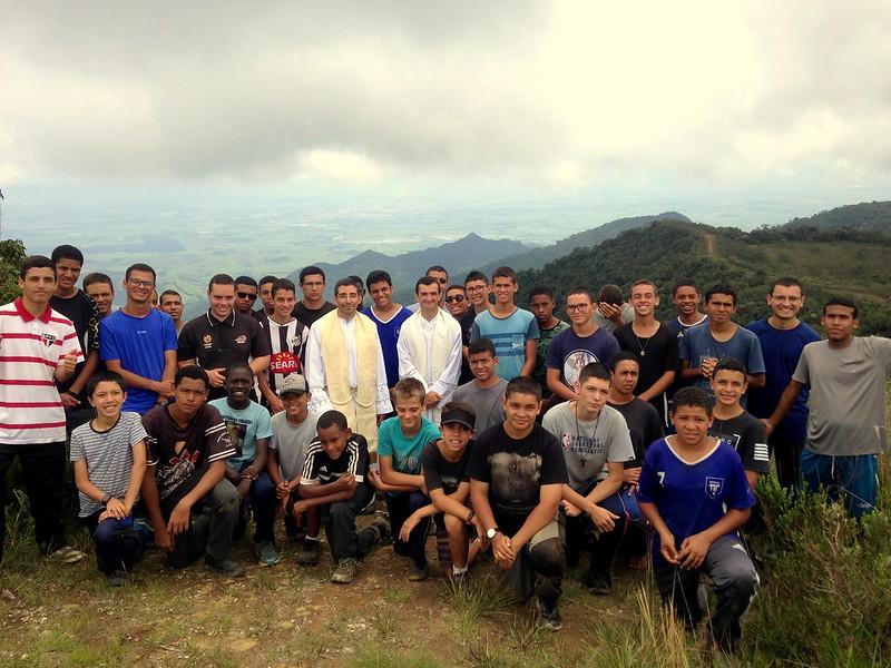 Brasil - Convivencia del Seminario Menor