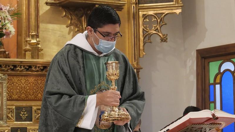 España - Primera Misa del P. Sebastián en el Monasterio del Pueyo