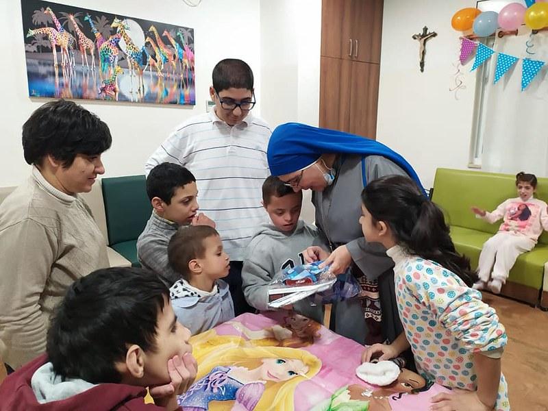 Belén - Celebración de cumpleaños en el Hogar Niño Dios