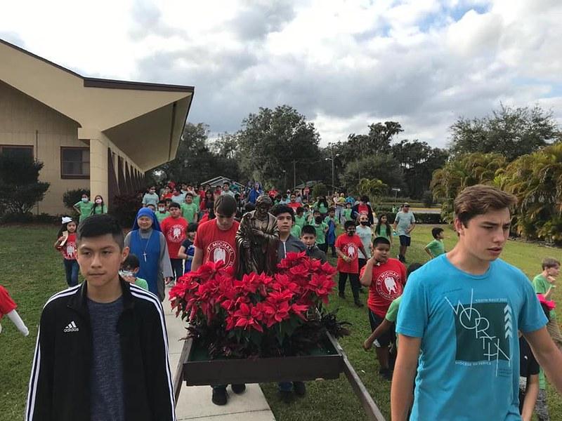 Estados Unidos - Campamento de niños en Florida