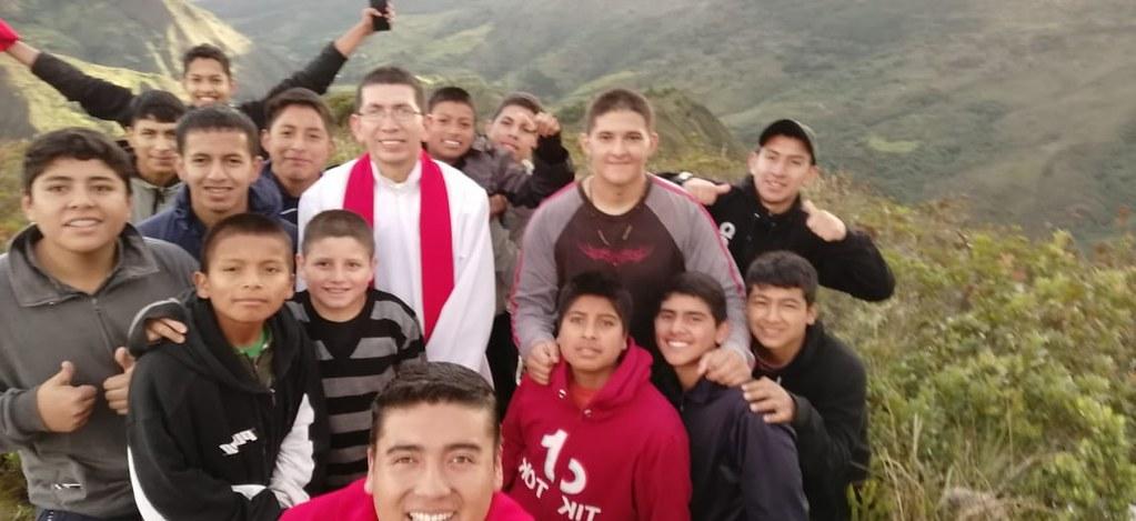 Ecuador - Salida a la montaña con el Seminario Menor