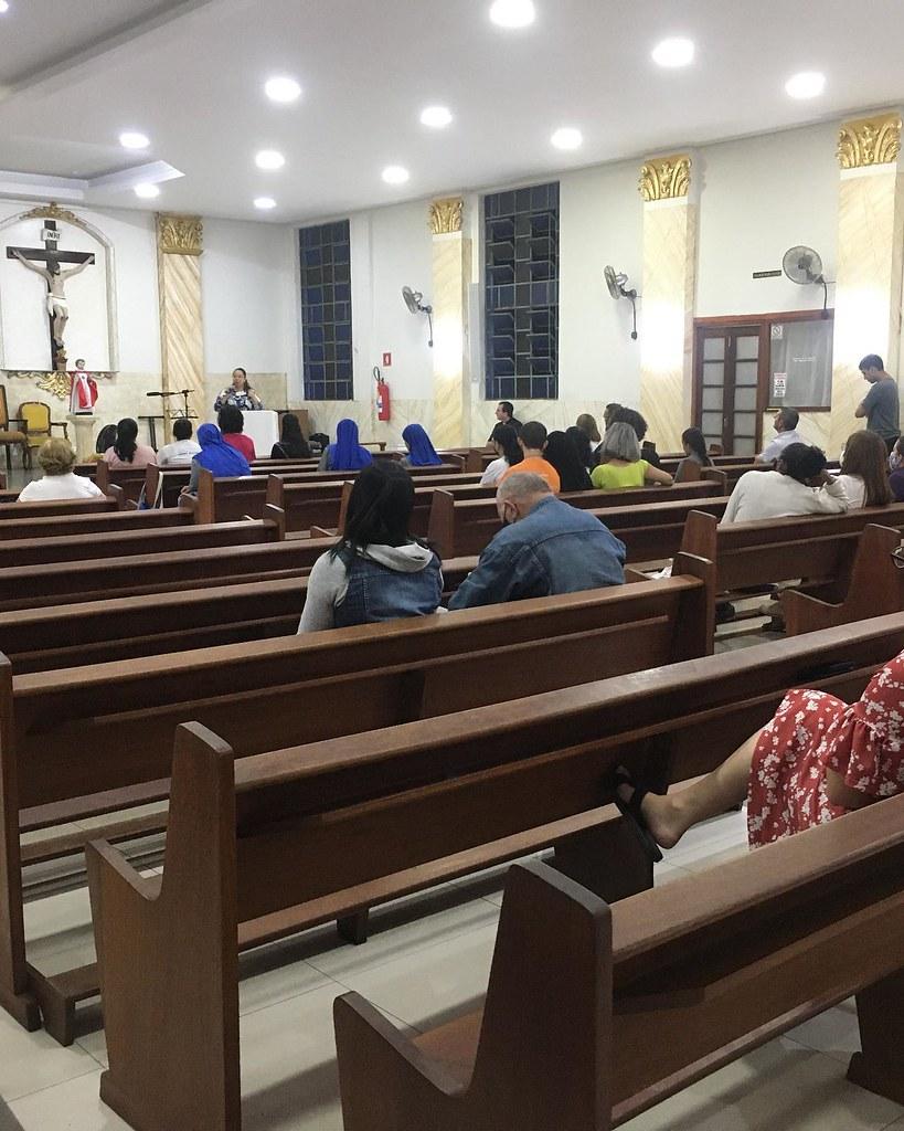 Brasil - Primera reunión de catequistas en la Parroquia Verbo Encarnado
