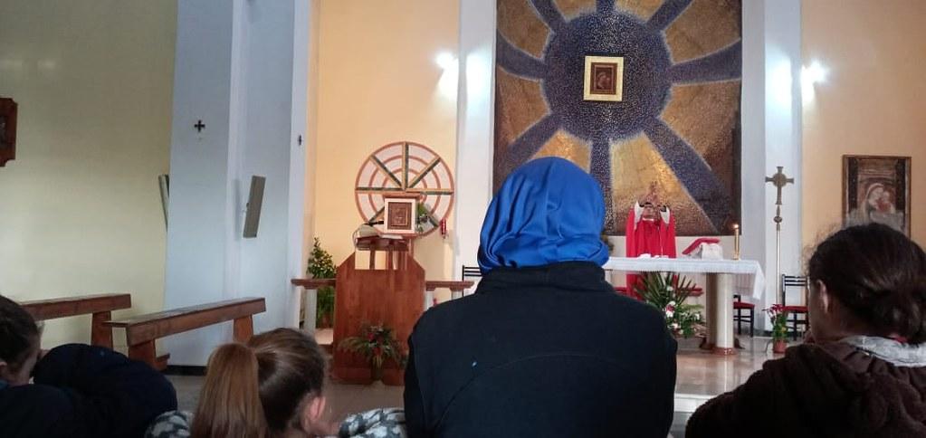 Albania - Misa en el Santuario Nacional del Buen Consejo