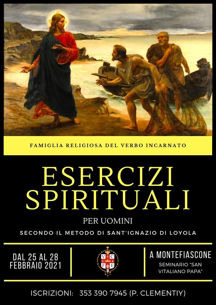 Italia - Ejercicios Espirituales Online desde el Seminario Mayor
