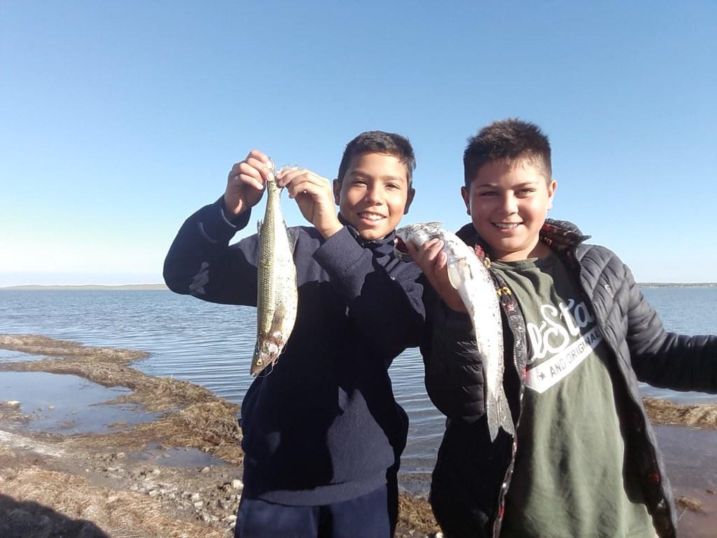 Argentina - Pescando en la convivencia del Seminario Menor