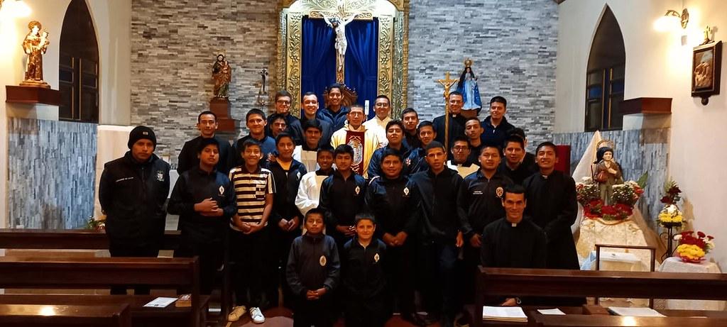 Ecuador - Fiesta de San Francisco Marto patrono del Seminario Menor