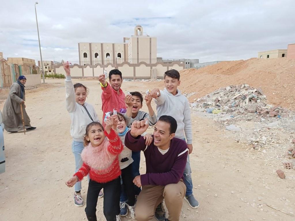Egipto - Visita del Noviciado a la parroquia de Iben Betak