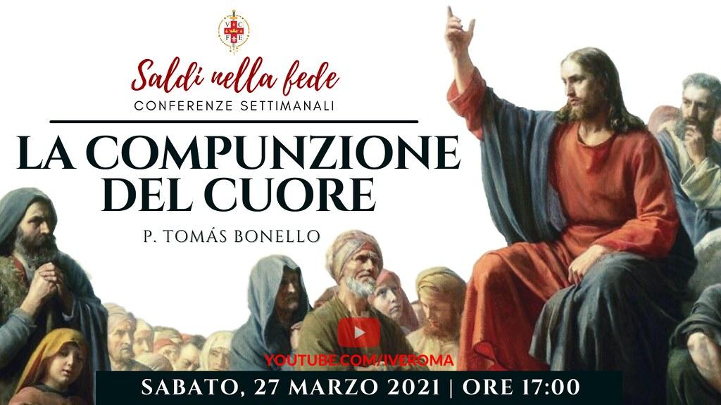 Italia - Conferencias semanales en vivo desde el Seminario Mayor