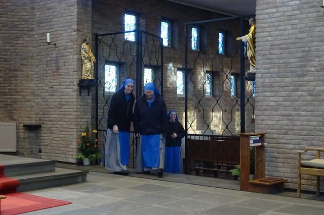Holanda - Entrada de la Hna. Mary Mother of the Church al Monasterio de Holanda.