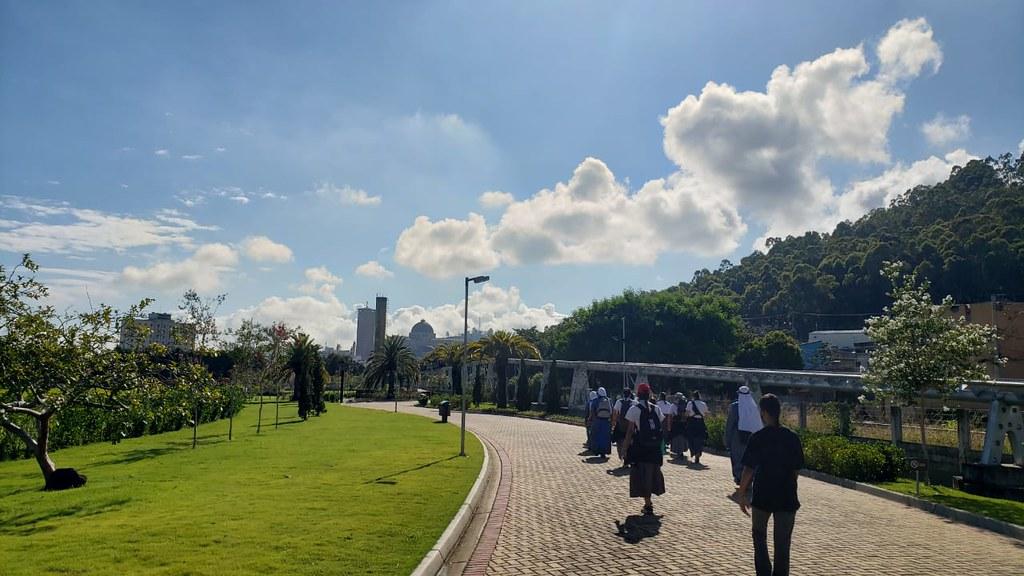 Brasil - Peregrinación de las novicias al Santuario de Aparecida