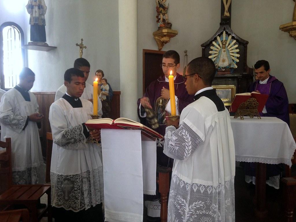 Brasil - Primer Domingo de Cuaresma en el Seminario Menor