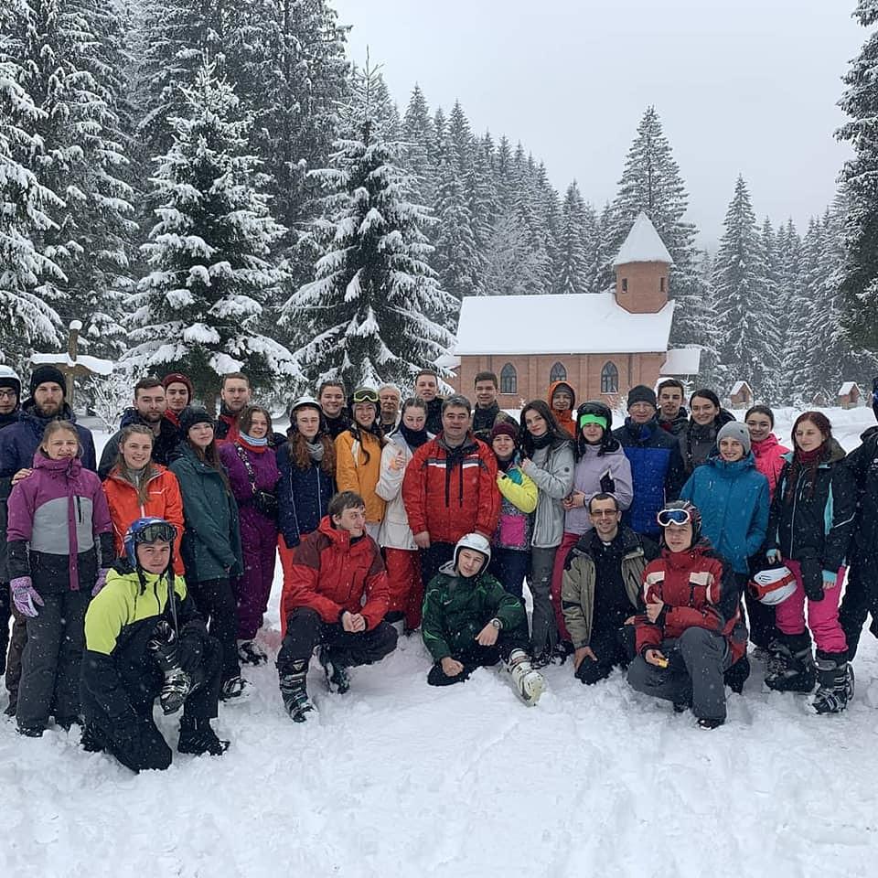 Ucrania - Campamento de invierno para jóvenes
