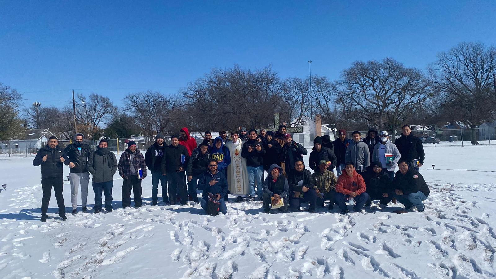 Ejercicios Espirituales en Dallas 34 hombres