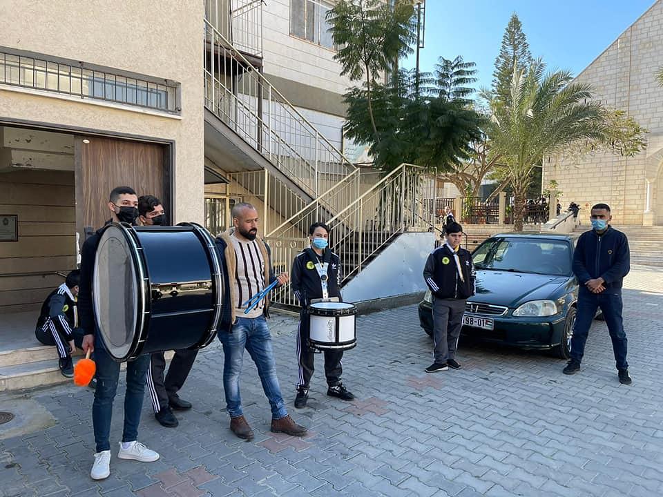 Gaza - Práctica con los Scouts