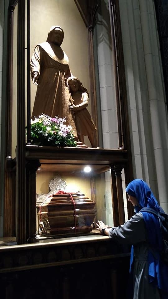 Argentina - Peregrinación a la Beata Ludovica de Angelis patrona de la Comunidad de La Plata