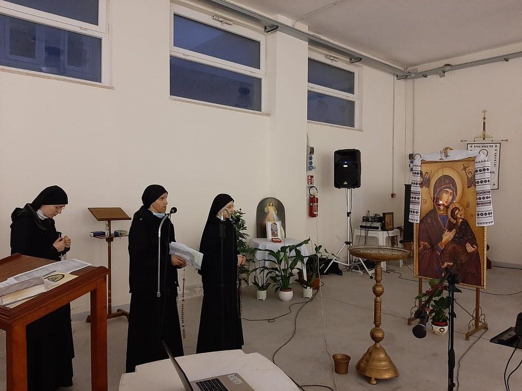Italia - Nuevo apostolado de las hermanas ucranianas en el Santuario de la Virgen de Pompeya (NA)