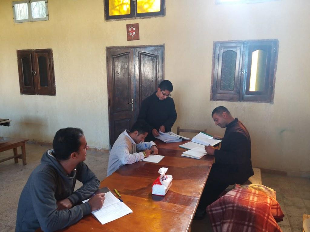 Egipto - Apostolado y clases de italiano de los novicios en el Hogar Nuestra Señora de Guadalupe