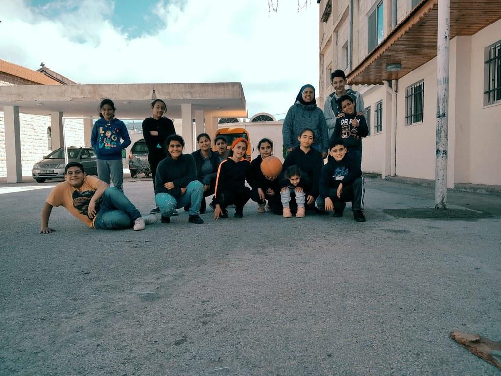 Jordania - Actividades con los niños del Hogar