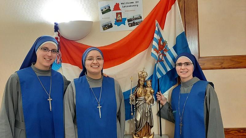 Luxemburgo - Bienvenida de la Hna. María Reina de las Vocaciones a la misión.