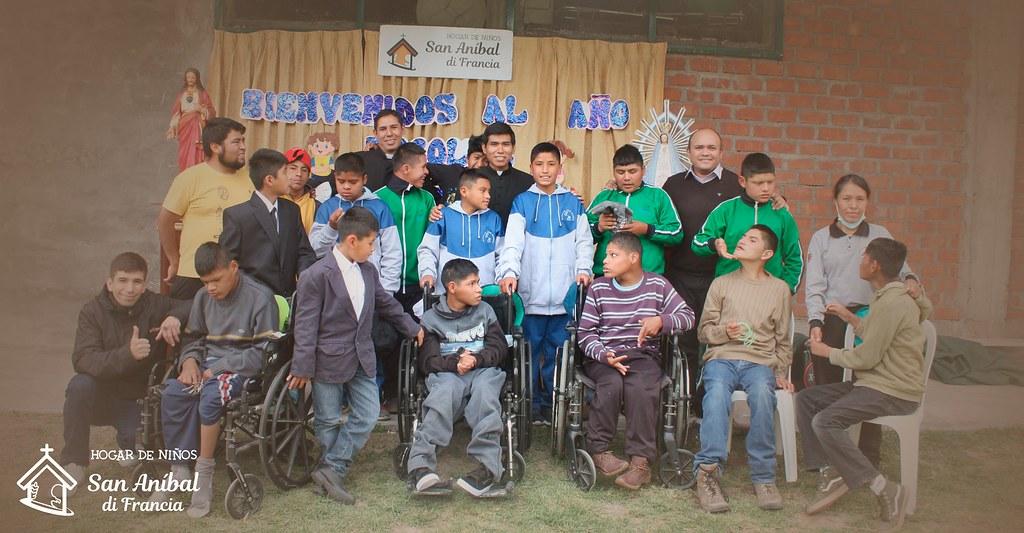 Perú - Inauguración del año académico en el Hogar San Anibal di Francia