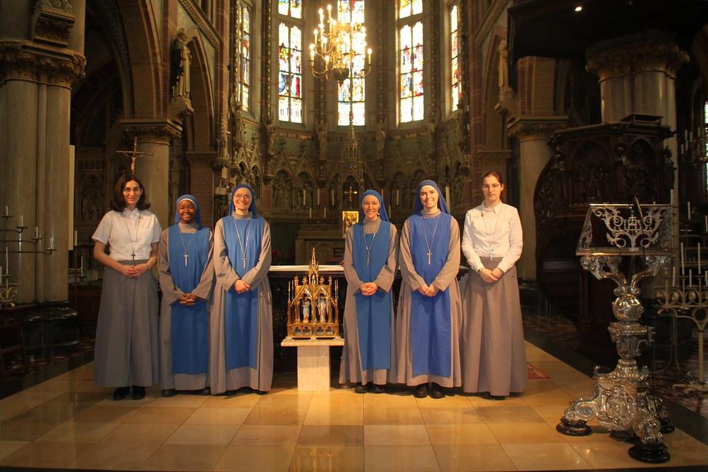 Holanda - Peregrinación a Santa Liduina y Maria van Jesse, patronas de la comunidad