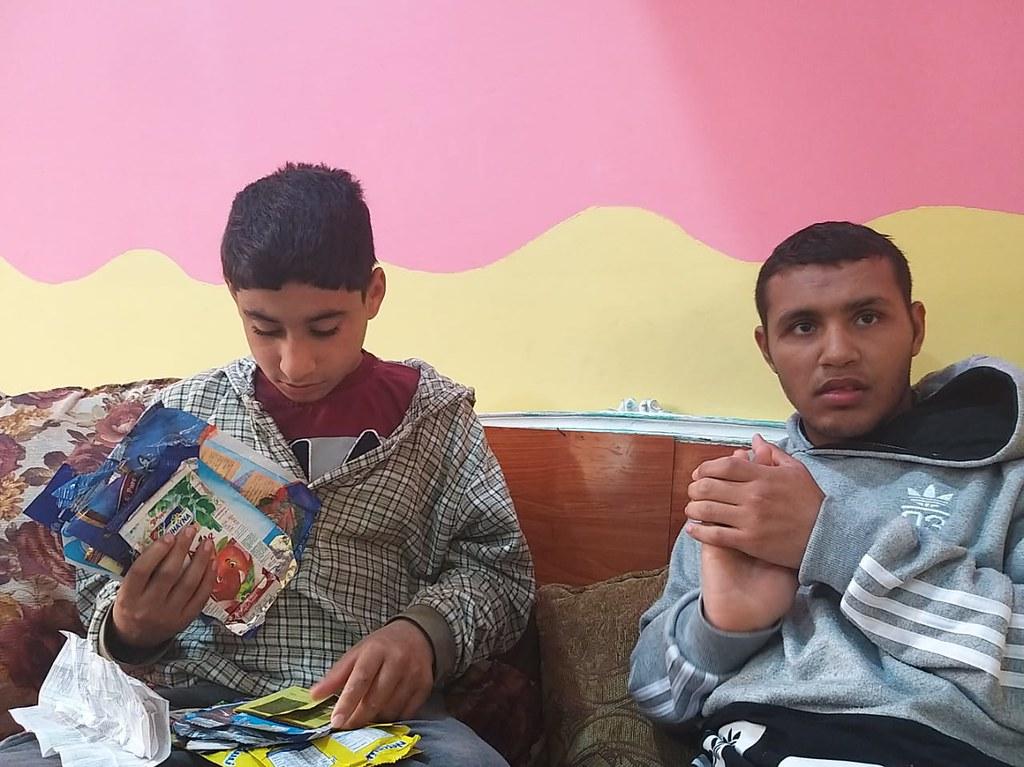 Egipto - Llegada de dos niños más al Hogar Nuestra Señora de Guadalupe