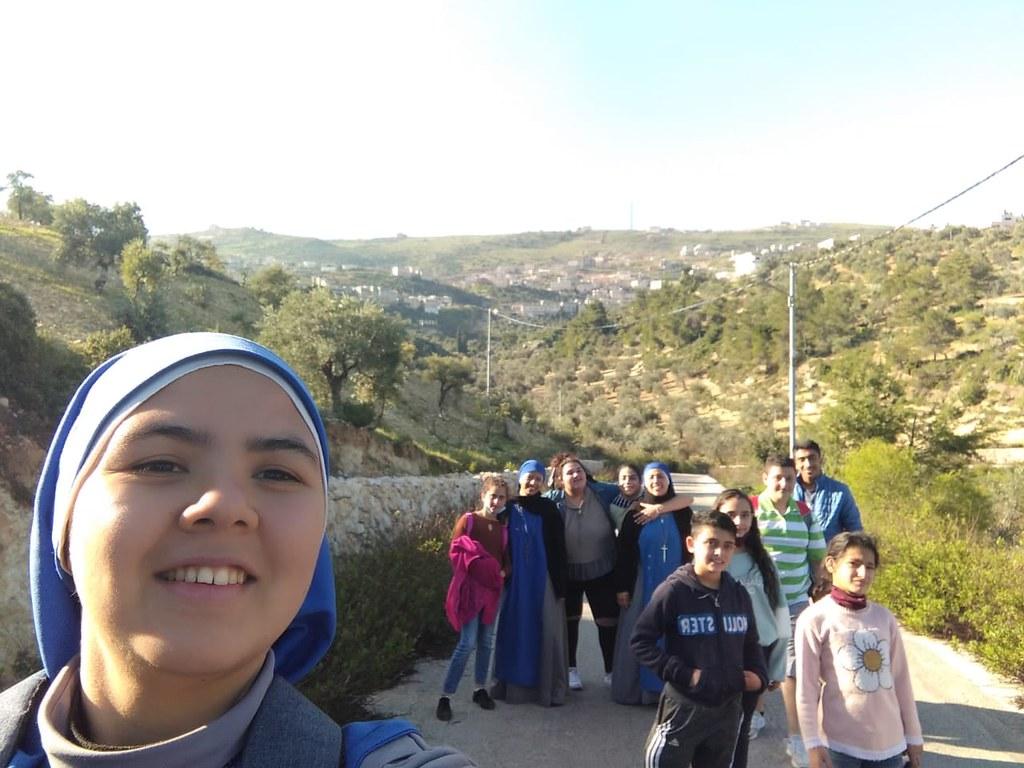 Jordania - Caminata con los niños del Hogar