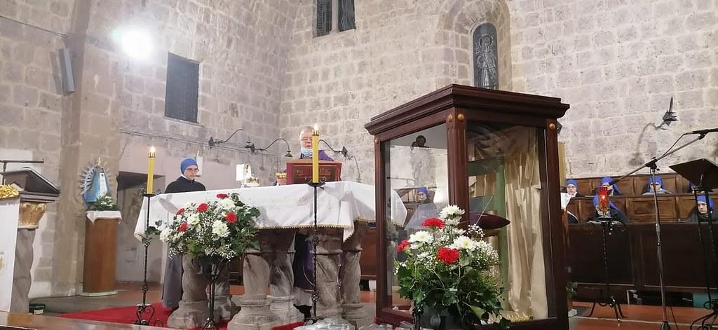 Italia - 150° aniversario de la aparición de San José en el Monasterio