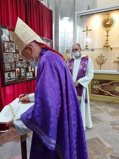 Túnez - Inauguración del nuevo museo de la Catedral de Túnez