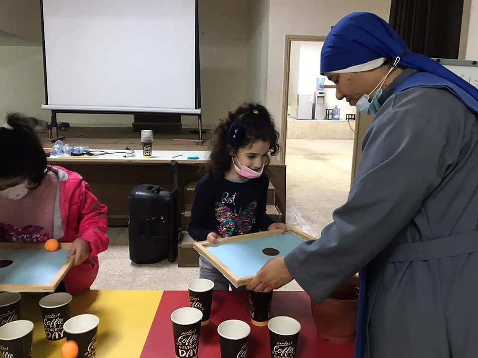 Gaza - Actividades con los niños del oratorio