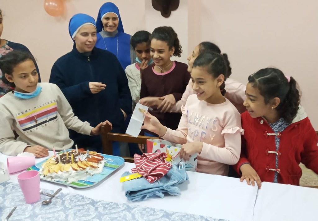 Egipto - Cumpleaños en el Hogar Divino Niño