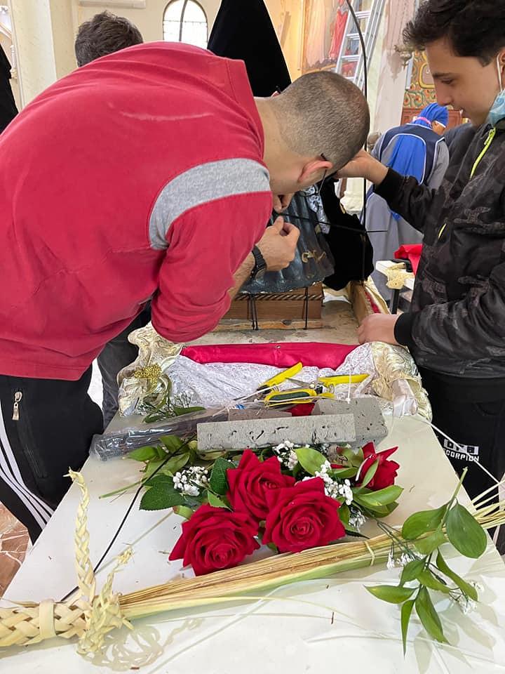 Gaza - Preparaciones para el Viernes Santo