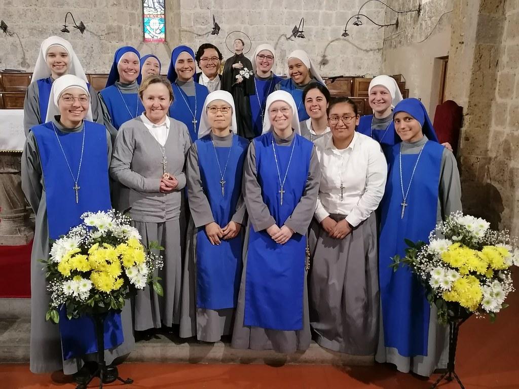 Italia - Fiesta de Santa Gema Galgani Patrona del Noviciado Contemplativo
