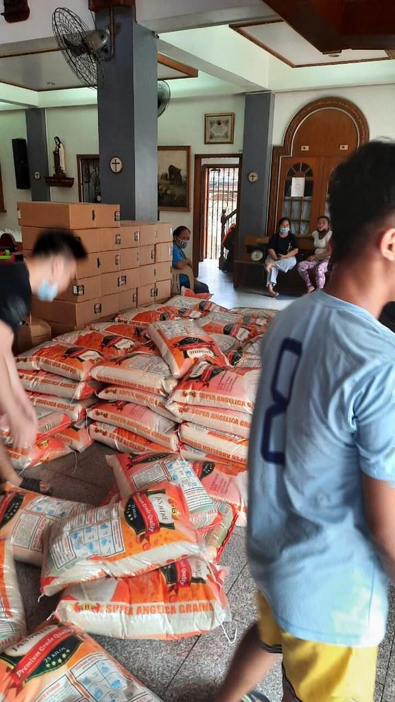Filipinas - Asistencia a las familias necesitadas