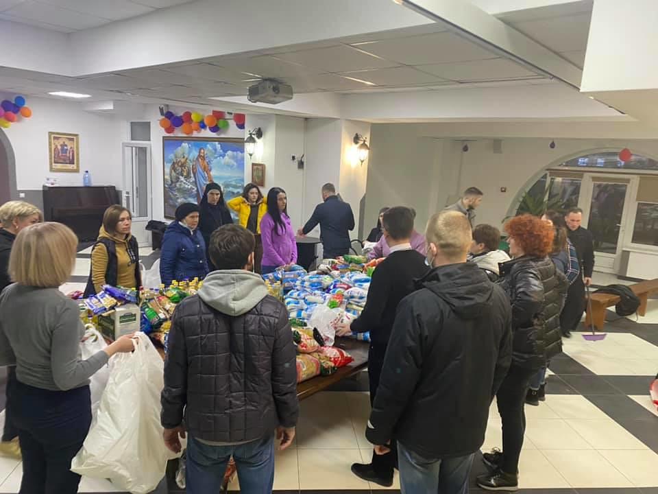 Ucrania - Preparando alimentos para los más necesitados
