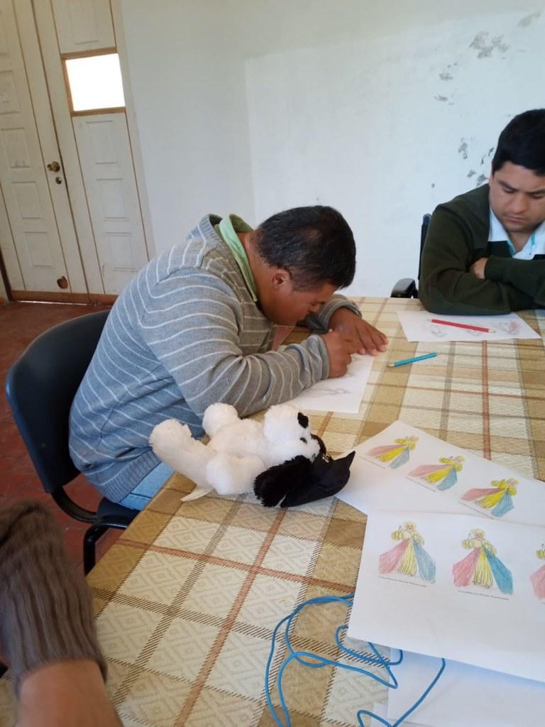 Chile - Taller para el Domingo de la Divina Misericordia