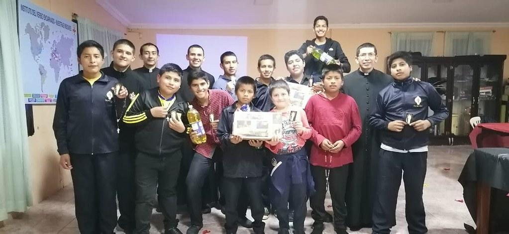 Ecuador - Pascueta en el Seminario Menor
