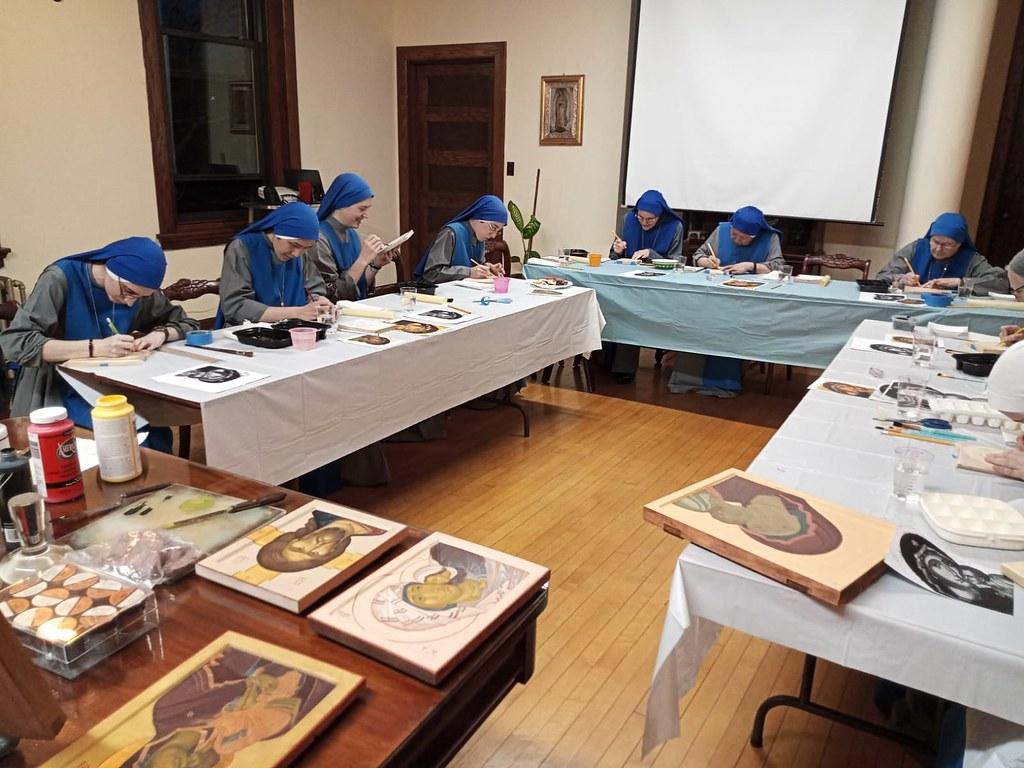 Estados Unidos - Actividades de Pascua en el Monasterio