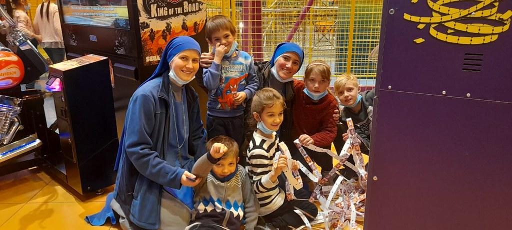 Kazajstán - Salida con los niños del Oratorio