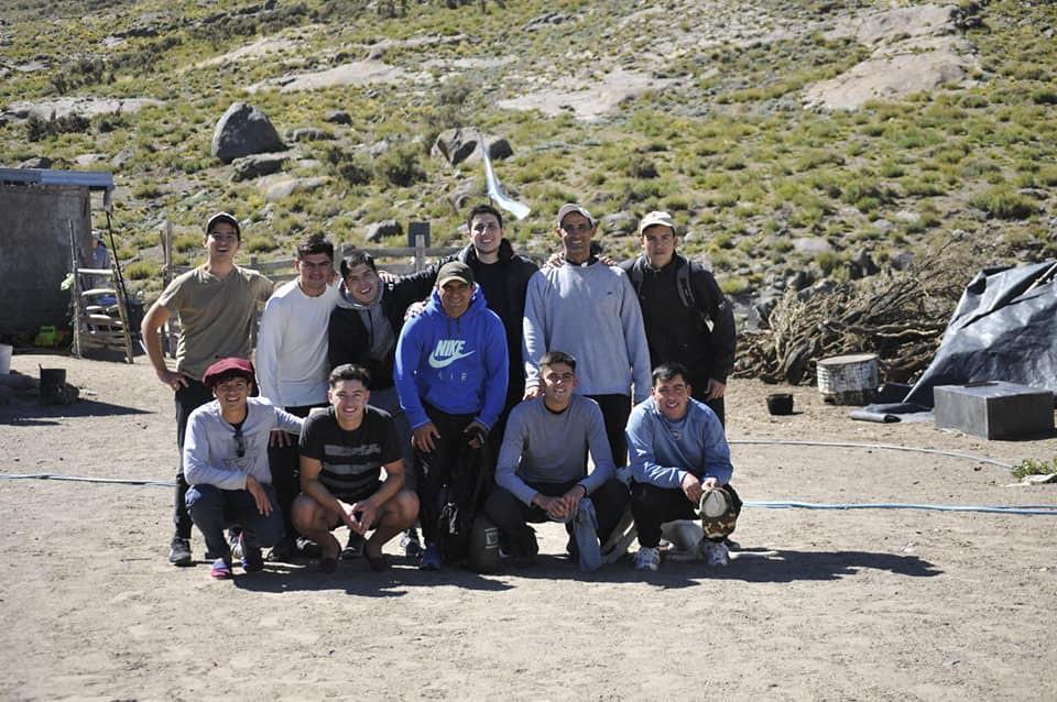 Argentina - Salida a la montaña del Hogar San Juan Bosco