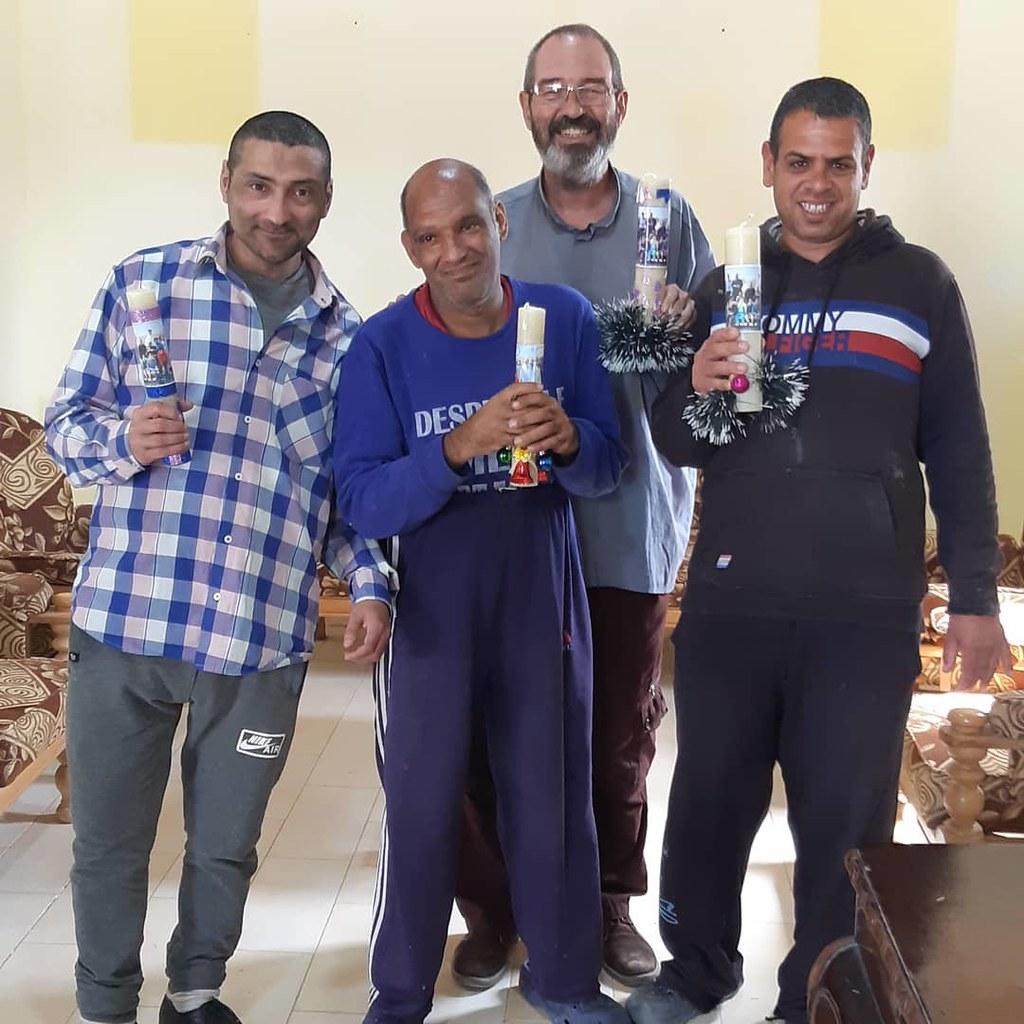 Egipto - Candelas de agradecimiento a nuestros benefactores.