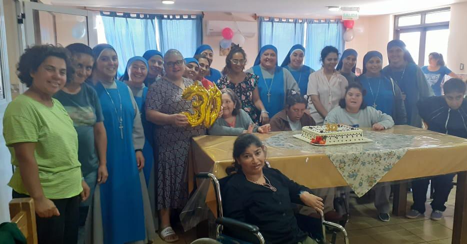 Argentina - 30° Aniversario de fundación del Hogarcito Divina Providencia