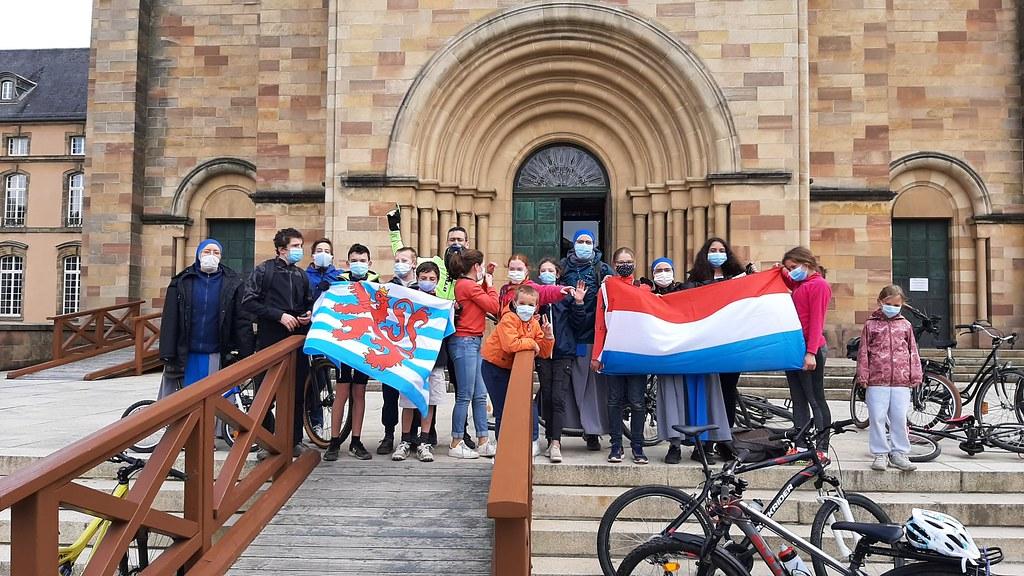 Luxemburgo - Peregrinación en bicicleta con los jóvenes de Luxemburgo