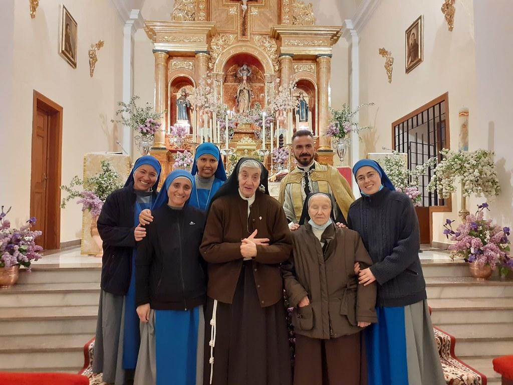España - Llegada de las Hermanas al Monasterio de Granada