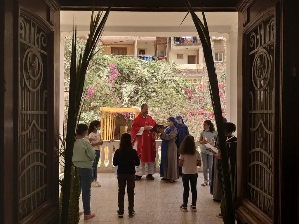 Egipto - Domingo de Ramos en El Cairo