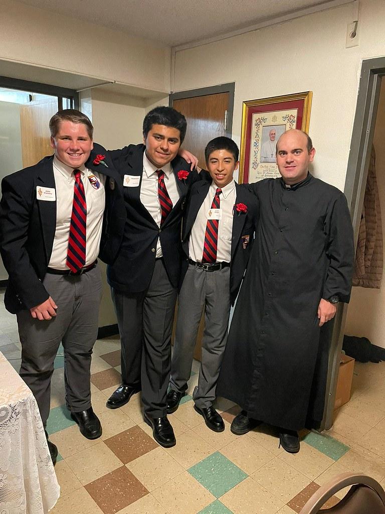 Estados Unidos - Confirmación de 3 Seminaristas Menores