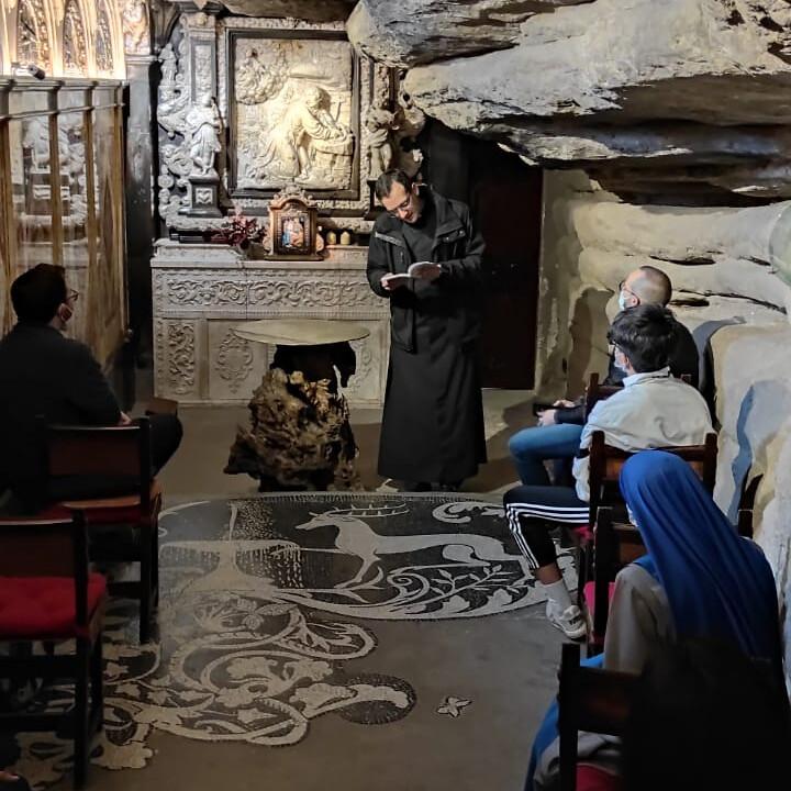 España - Visita a la santa Cueva donde San Ignacio escribió los Ejercicios Espirituales
