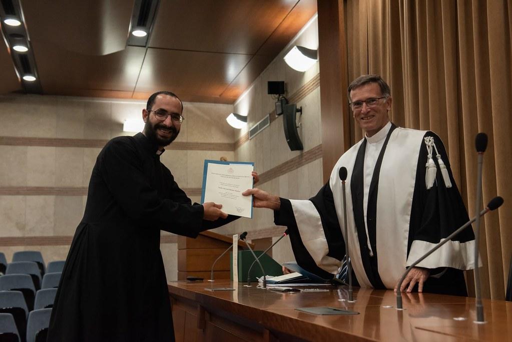 Italia - Nuevo licenciado en Teología en la Universidad Pontificia Santa Croce: P. Filopatir, IVE