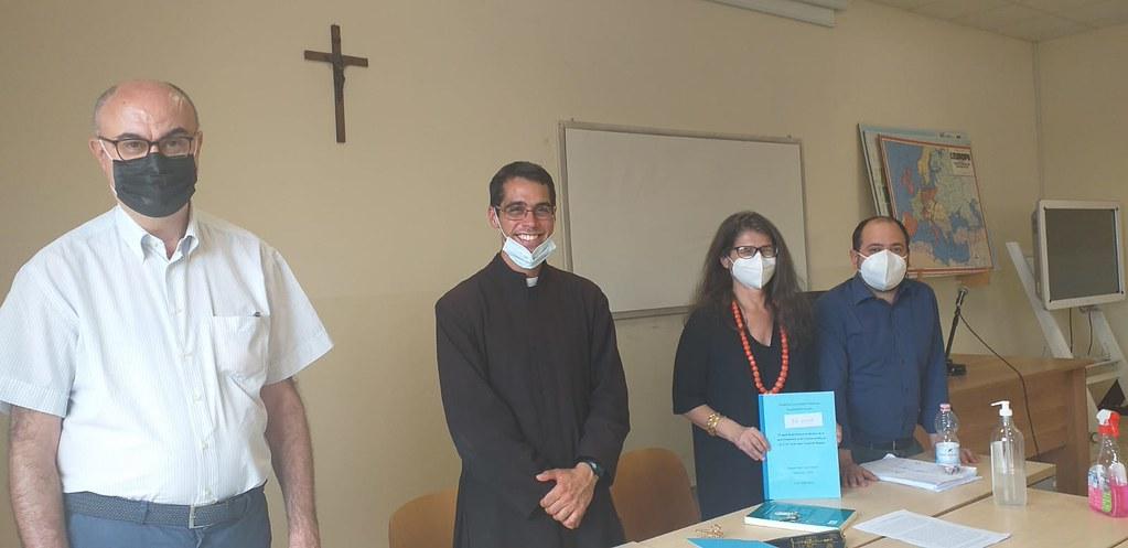 Italia - Nuevo licenciado en Filosofía en la Pontificia Universidad Urbaniana: P. Jesús Segura, IVE