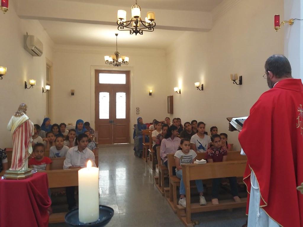 Egipto - Solemnidad de Pentecostés en El Cairo